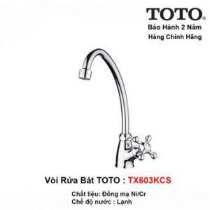 Vòi Rửa Bát Lạnh TOTO TX603KCS