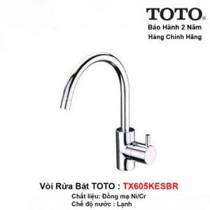 Vòi Rửa Bát Lạnh TOTO TX606KES