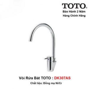 Vòi Rửa Bát TOTO DK307AS