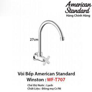 Vòi Rửa Bát 1 Đường Lạnh American Standard WF-T707