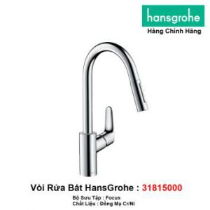 Vòi Rửa Bát Hansgrohe 31815000