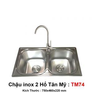 Chậu Bếp Tân Mỹ TM74