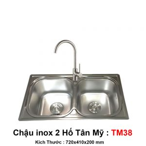 Chậu Bếp Tân Mỹ TM38