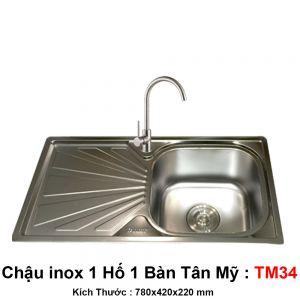 Chậu Bếp Tân Mỹ TM34
