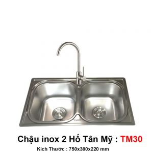 Chậu Bếp Tân Mỹ TM30