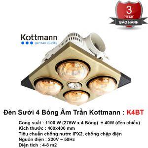 Đèn Sưởi Âm Trần Kottmann K4BT