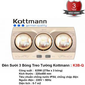 Đèn Sưởi Nhà Tắm Kottmann K3B-Q