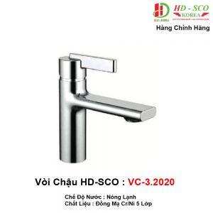 Vòi Lavabo HDSCO VC3.2020