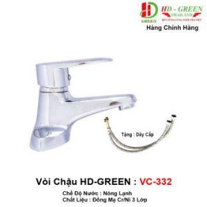 Vòi Lavabo HDGreen VC332