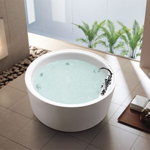 Bồn tắm đặt sàn massage Elimen - Mã YAD-8138