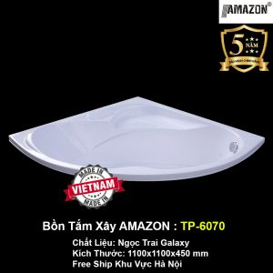 Bồn Tắm Góc Xây AMAZON TP-6070