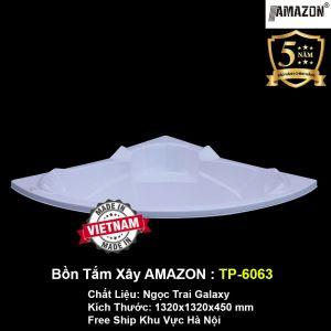 Bồn Tắm Góc Xây AMAZON TP-6063