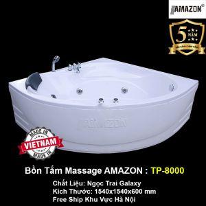 Bồn Tắm Góc Massage AMAZON TP-8000