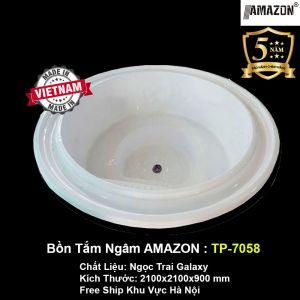 Bồn Tắm Yếm AMAZON TP-7058