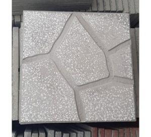 Gạch vỉa hè Terrazzo 40x40 đá xám ghi
