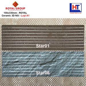 Gạch 10x33 Royal STAR01-STAR06