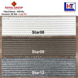 Gạch 10x33 Royal STAR08-STAR09-STAR12